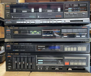 Fisher Studio-Standard HiFi System Amp Tuner CD and Double Cassette