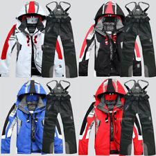 2020 Men's Winter Waterproof  Ski Suits Coat & Pants Jacket Snowsuits Windproof