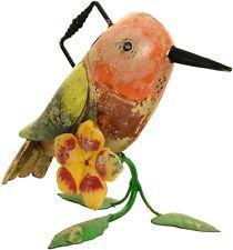 Vintage Addiction Hummingbird Iron Watering Can