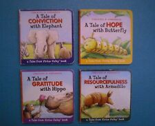 Chick-Fil-A 2006 - Virtue Valley Tales, Series 4, Board Books - Set of 4
