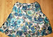 Laura Scott Womens Skirt Plus Size 1X SEXY Ladies Floral Animal Print Stretch
