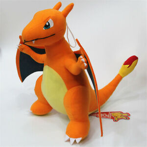 "30cm 12"" Charizard Plush Animation Toy Soft Doll Stuffed Plush collect Doll Gift"
