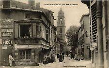 CPA  Pont-a-Mousson - La Rue St-Laurent  (386213)