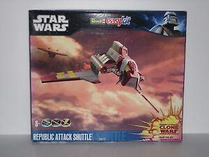 STAR WARS Republic Attack Shuttle (Clone Wars) - Easykit - Revell 06672