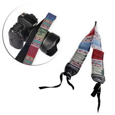 Vintage Camera Shoulder Neck Strap Belt For SLR DSLR Nikon Sony Canon Panasonic