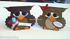 Ollie the Owl Card Stampin Up Cardstock Kit Punch Art Makes 2 Cards Stampin' Up!