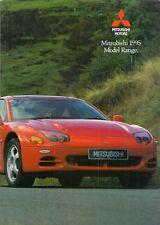 Mitsubishi 1995 UK Market Sales Brochure Colt Lancer Galant Sigma 3000GT Shogun