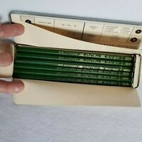 FABER-CASTELL 9000 ARTIST 12 GRAPHITE PENCILS 8H in ORIGINAL METAL BOX, GERMANY
