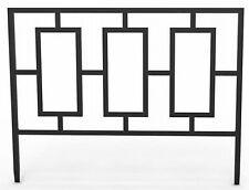 "14""H x 18""W, Black,Contemporary Style Border Edge,Powder Coated Steel,84575"