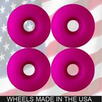 BLANK 53mm PINK Skateboard WHEELS.. FREE SHIP