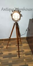 Vintage Nautical Spot Light Handmade Modern Copper Antique Marine Searchlight