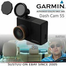 Garmin Dash Cam 55│GPS-enabled Car Camera│Voice Control│1440p HD Video│Wi-Fi