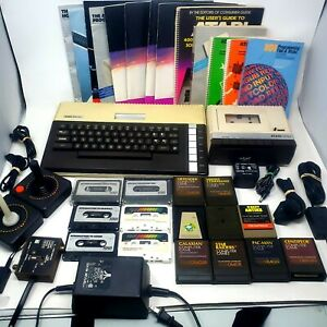 HUGE Atari 800XL Home Computer and Atari 1010 Cassette Recorder Lot - TESTED!