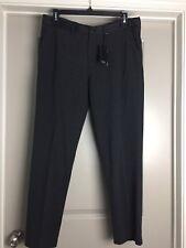 NWT ARMANI EXCHANGE Women Trousers Dress Pants Black L MSRP $110 100% COTTON