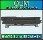 BMW 5 Series E60 M-ASK BMW 5 Series car stereo, BMW 5 Series radio CD player