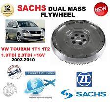 FÜR VW TOURAN 1T1 1T2 1.9 2.0 TDi 03-10 SACHS DMF ZWEIMASSENSCHWUNGRAD &
