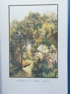 1:12 Scale Book, Garden Colour ,Margret Waterfield, 1905, Crafted by ken Blythe