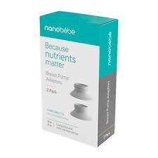 nanobebe breast pump adaptors 2 pack