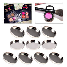 10pcs Empty Round Pans for Eyeshadow Palette Palette Responsive to Magnets 26mm