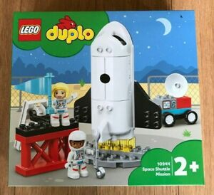 LEGO DUPLO 10944 Space Shuttle Mission 23 piece age 2 + ~Brand NEW ~