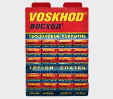 100 RAPIRA VOSKHOD DOUBLE EDGE CLASSIC SAFETY RAZOR BLADES