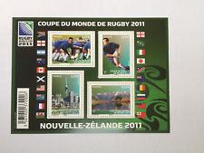 Coupe du Monde de Rugby 2011 feuillet F4576 neuf**