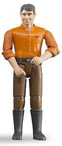 bruder®  60007  Mann mit hellem Hauttyp und brauner Hose, NEU & OVP