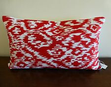 Tilda Red Rectangular Cushion Cover