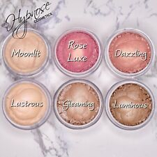 Loose Eyeshadow Pigment Highlighter Set Of 6 Shades
