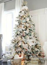 White Feather Boa 1.8 mètres Noël Snowy Tree Décoration Couronne Décoration