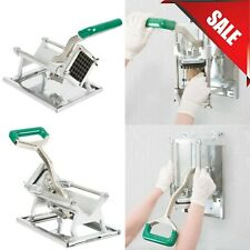 """1/2"""" Restaurant Commercial French Fry Vegetable Cutter Chopper Dicer Wall Mount"""
