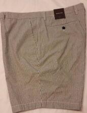 "NWT Men's Michael Kors 40W Ins 8 3/4"" Midnight Striped Shorts"