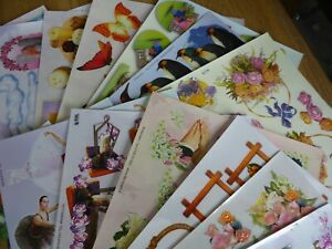 *NEW* 20x ASSORTED Mixed A4 Sheets of TBZ Traditional Embossed Decoupage (Set 1)