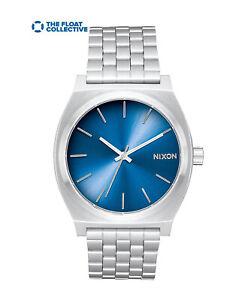 NIXON Time Teller Float Collective Watch Stainless Steel Quartz Japan Movement