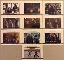 GAME OF THRONES - SEASON 5: CHASE CARDS: RELATIONSHIPS - 10 CARD SET