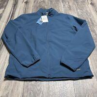 Barbour Billy Jacket Mens Full Zip Waterproof Weather Comfort Size Large NWT