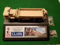 Oshkosh Hemtt M985 Military Cargo Truck TAN 1/50 Diecast Clark Design Build