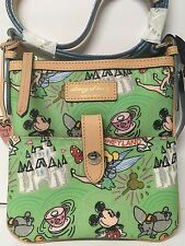 Disney Dooney & Bourke Tinker bell  Letter Carrier Bag  Purse NWT Rare""