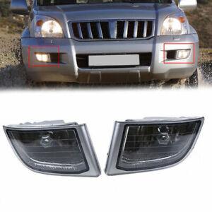For Toyota Land Cruiser Prado J120 2002-09 Front Bumper Fog Lights Driving Lamps