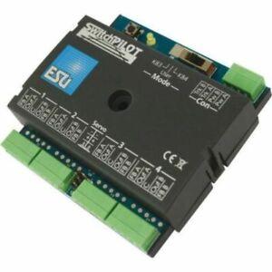 ESU 51820 - SwitchPilot V2.0, 4-pin magnet article decoder, 2xServo, DCC/MM, ...