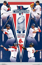Boston Red Sox WORLD SERIES 2013 6-Player Action Commemorative MLB Wall POSTER