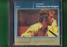 FRANCESCO DE GREGORI IL MONDO VOL 1 LINEATRE 1a CD NUOVO SIGILLATO