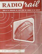 Radio Rail n°210 - 1960 - Philips et le Synchrotron - C.C.R.N. d' Orly - Ampex