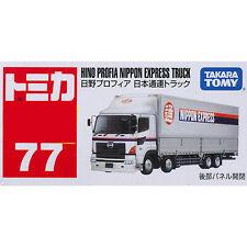 Takara Tomy Tomica #77 Hino Profia Nippon Express Truck Diecast Toy Car JAPAN FS
