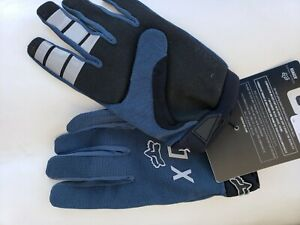 Fox Racing 2020 Ranger Glove Blue and black Size Large / Guantes fox