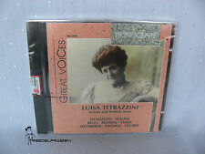 CD: Great Voices LUISA TETRAZZINI Italian and French Arias - Phonographe 1998
