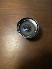 Vivitar 20mm f/3.8 Auto Wide Angle Lens Canon FD Mount