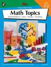 The 100+ Series: Math Topics, Grades 1 - 2 by Robert W. Smith, James E. Davidson