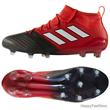ADIDAS ACE 17.1 PRIMEKNIT FG SOCCER CLEATS MEN'S SIZE US 13 RED BLACK BB4316