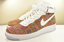 DS 2016 NIKE AIR FORCE 1 ULTRA FLYKNIT MID MULTICOLOR 12 SUPREME HYPERFUSE MAX